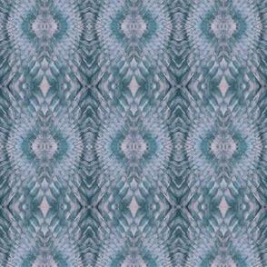 Snake Diamonds (Lavender & Teal)