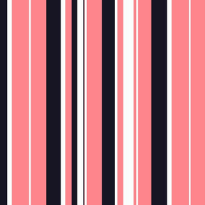 Urban girl / stripe