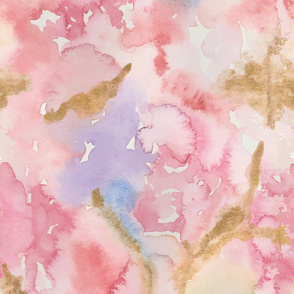 Maelie Watercolor  Abstract