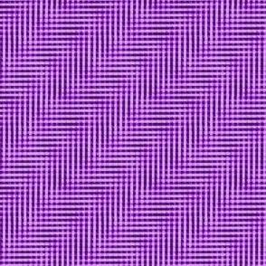 glitchy mad purple gingham