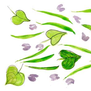 Green Beans & Blossoms