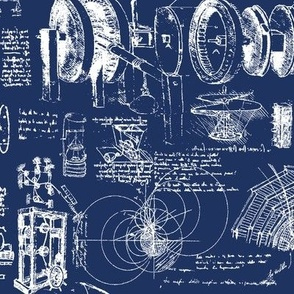 Da Vinci's Blueprints // Small