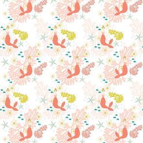 Coral Reef Mermaids // Blonde // Small