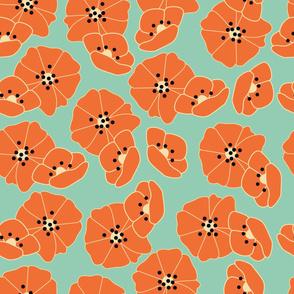 Retro flower pattern 005