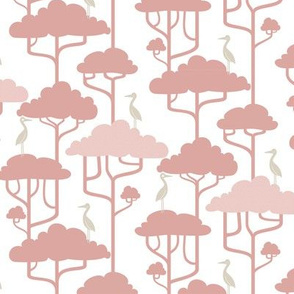 If By Air - Tree Tops, Pink