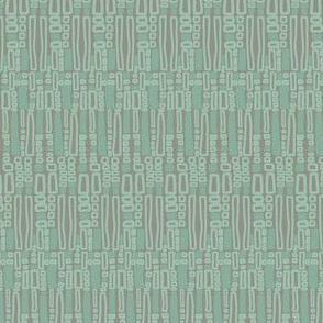17-04K Green Gray Mint Abstract _ Miss Chiff Designs