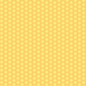 17-04H Yellow Polka Dot || Gold Lemon Orange Vintage Antique Quilt Pastel Spot _Miss Chiff Designs
