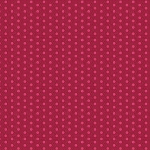 17-04G Cranberry red polka dot || Thanksgiving Fall