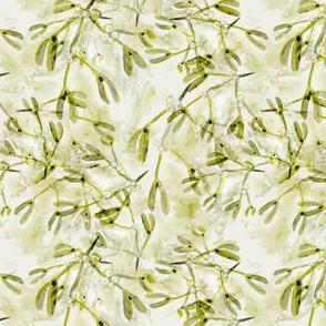 mistletoe green