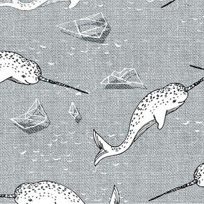 Narwhal symphony (grey)