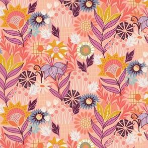 Wildflowers in Pink