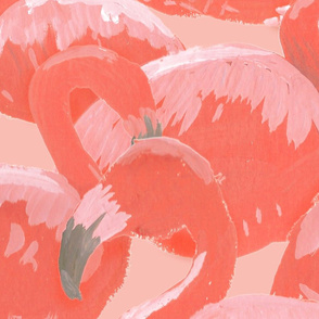 Flamingo Pile by The Prime Floridian