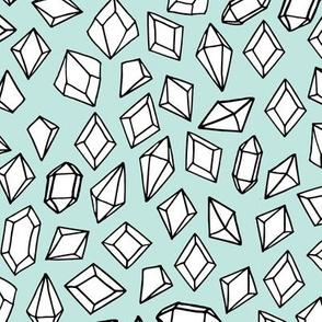 crystals // gemstones gems fabric gem gemstones lite pastel fairy kei fabric