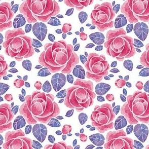 Watercolor roses 52
