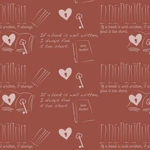 Jane Austen Book Blush