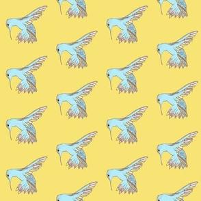 Hummingbird Pastels
