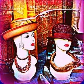 Vintage Hat Models