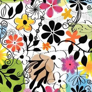 Wacky Floral
