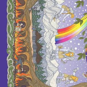Yggdrasil, The World Tree  (zoom for full panel)