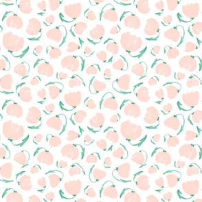 Apricot Water Color Flowers | Jade Apricot