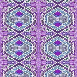 Peeking Purple Posy