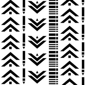 Black White Arrows