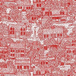 Little Neighborhood Red