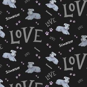 Standard Schnauzer Dog Love