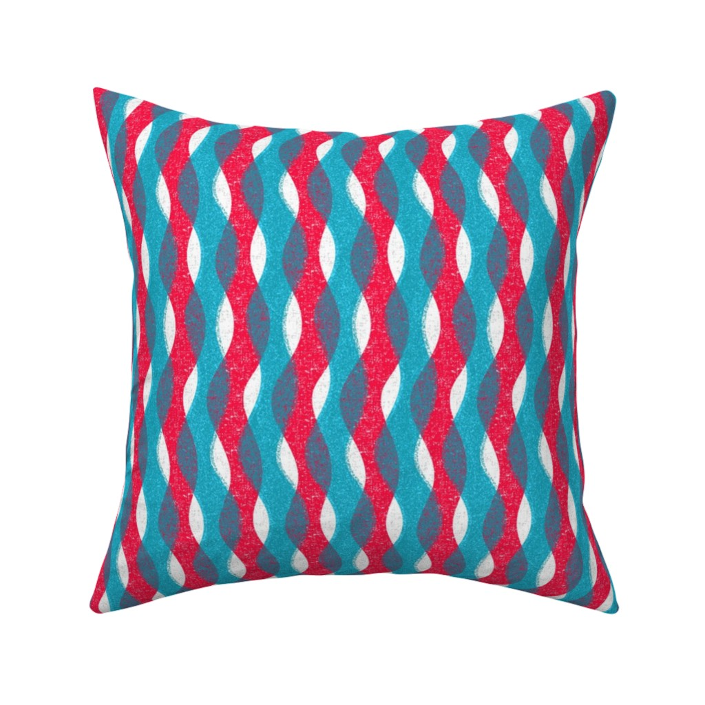 Catalan Throw Pillow featuring Uptown Lights by ottomanbrim