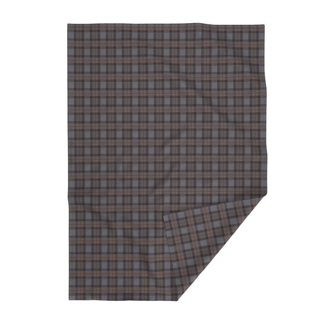 Lakenvelder Throw Blanket featuring Fraser Hunting tartan plaid outlander large by laurawrightstudio