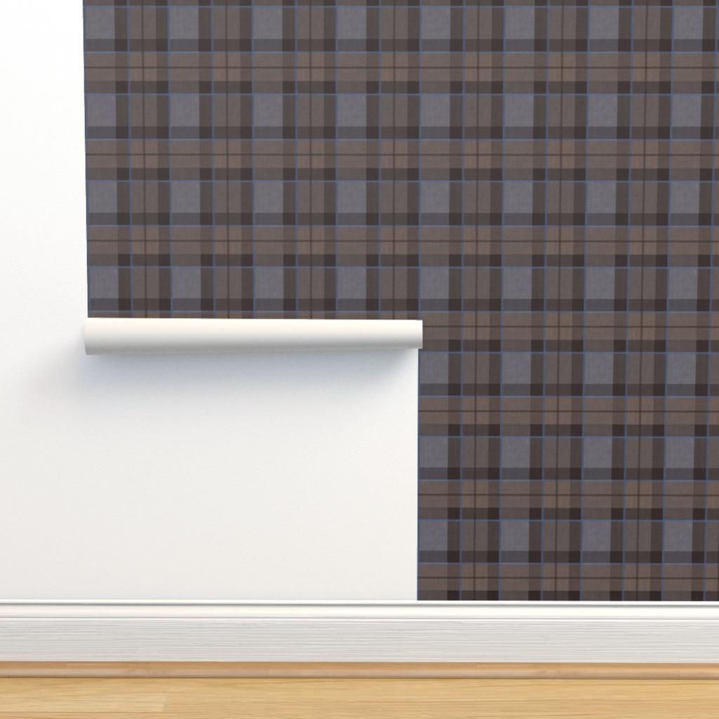 Isobar Durable Wallpaper featuring Fraser Hunting tartan plaid outlander large by laurawrightstudio