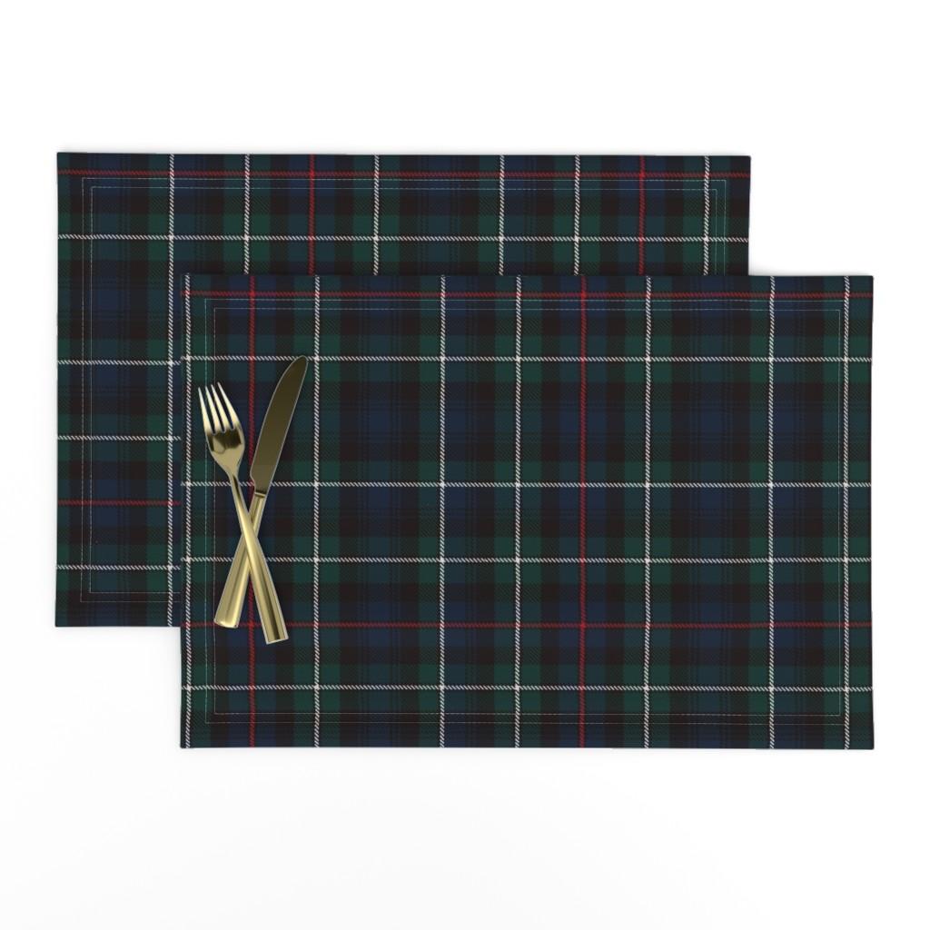 Lamona Cloth Placemats featuring MacKenzie tartan plaid outlander by laurawrightstudio