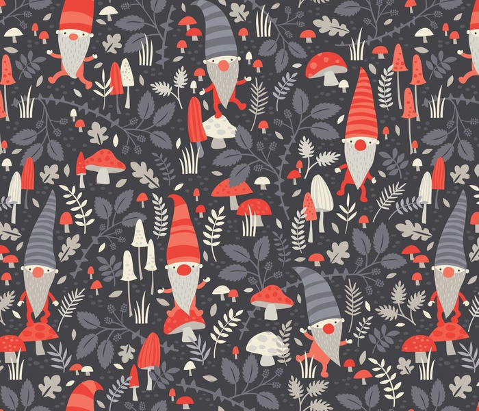 Nordic Gnomes // by petite_circus