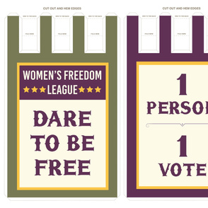 Women's March Banners