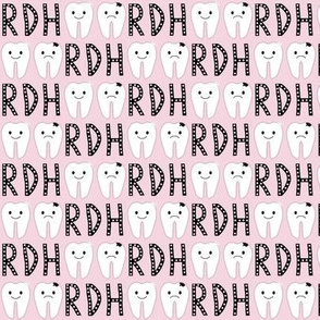 Dental/ Tooth/ RDH on Pink