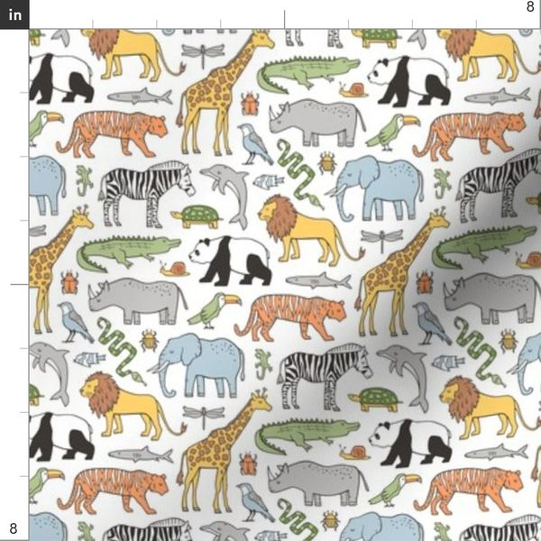 CHILDREN/'S ZOO QUILT BLOCK SET HAND EMBROIDERY PATTERN From Jack Dempsey Inc.
