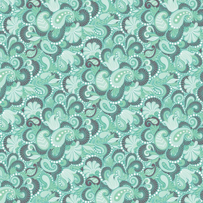 Paisley in Green