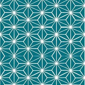 Star Tile in Teal