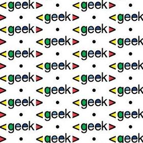 Geek computer nerds