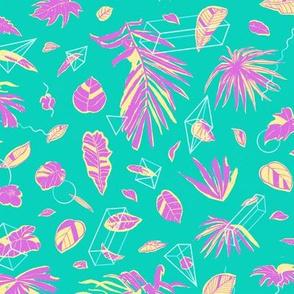 Botanical Geometry: summer [ice cream]