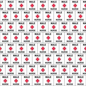 Red Cross Male Nurse