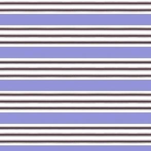 French Ticking Lavender Stripe