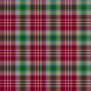 "British Columbia official tartan, 6"" grey"