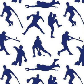 Baseball Players // Dark Blue