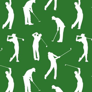 Golfers on the Fairway // Small
