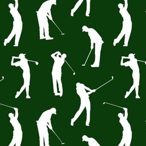 Golfers in the Rough // Small