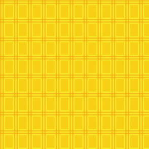 Magical NEET plaid - yellow