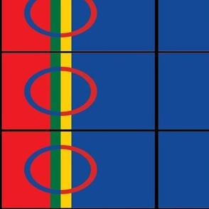 SAMI peoples flag