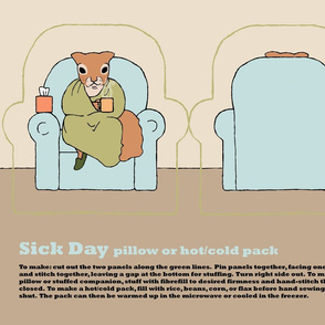 sick day pillow or hot/cold pack