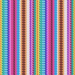 Peruvian Blanket (Stripes)